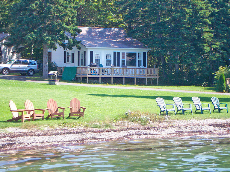 Harbor maine lakeside cabin rentals donnel pond lodging near acadia